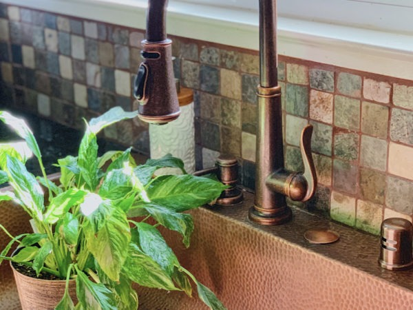 Our Lovely Copper Kitchen Sink