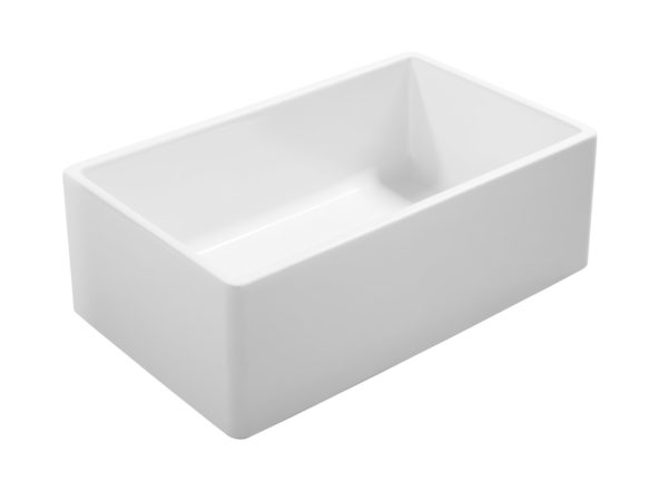 farmhouse fireclay sink