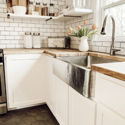 stainless steel kitchen farmhouse sink