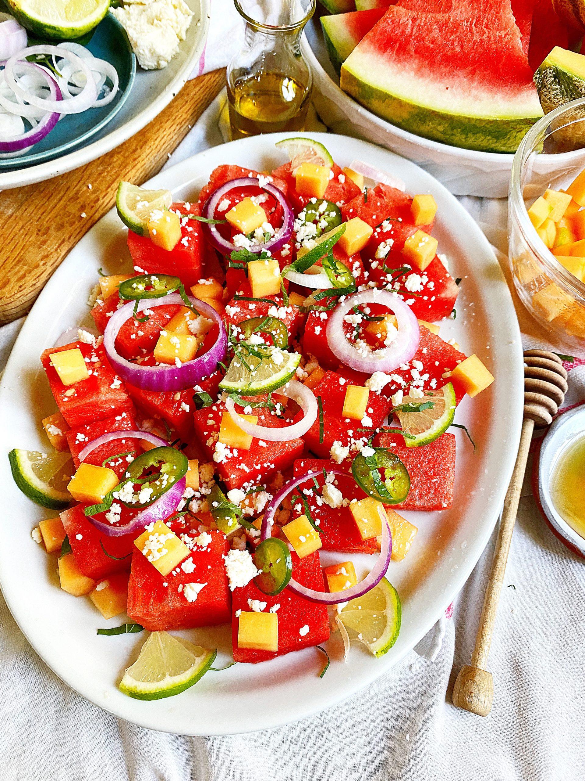 Mojito Melon Summer Salad