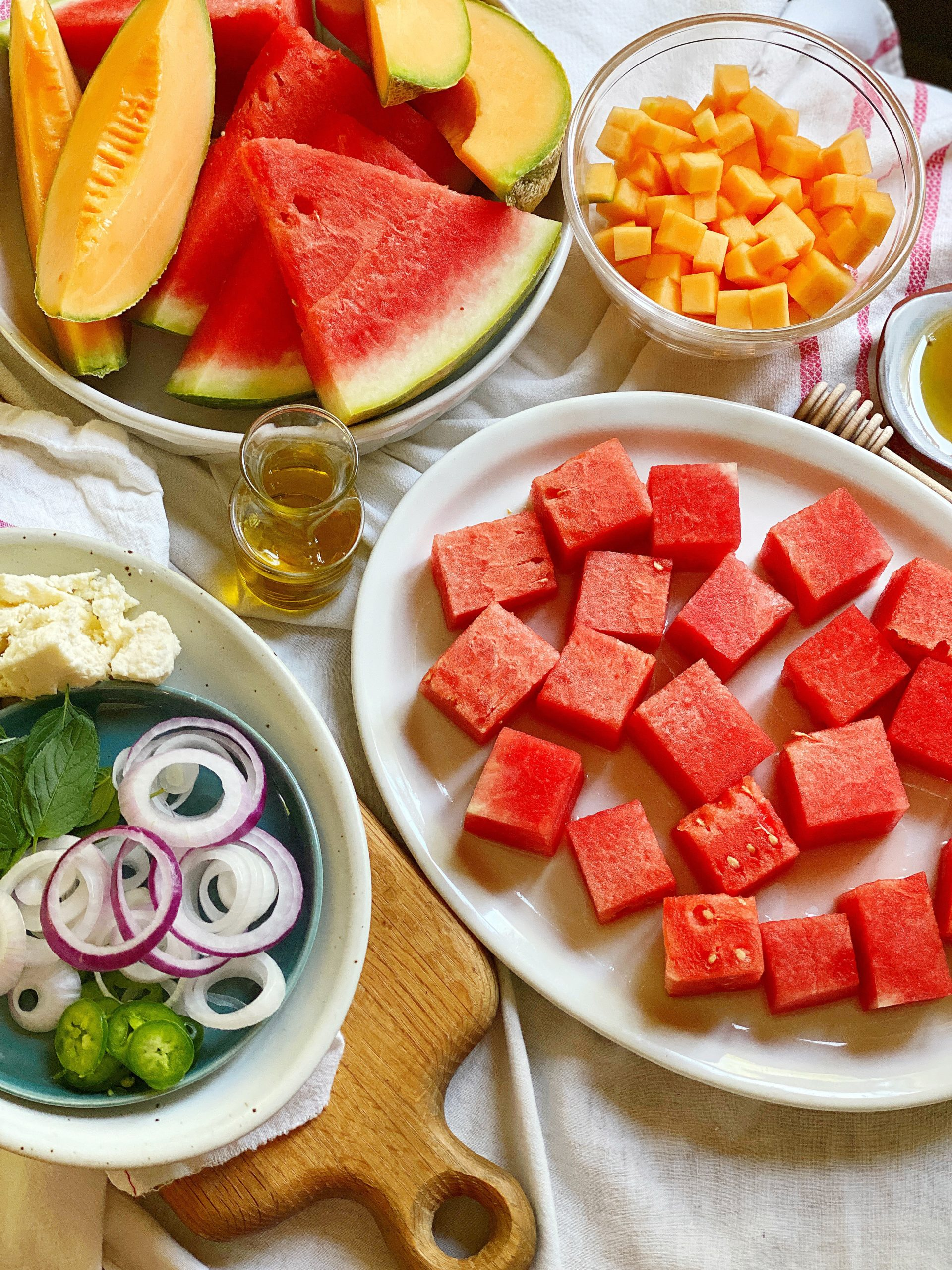 mojito melon salad ingredients