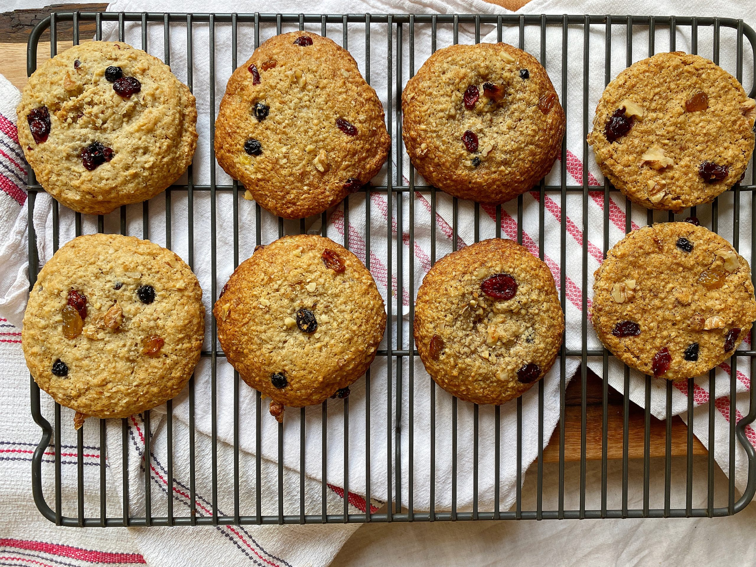 Big Banana Breakfast Cookies same recipe 4 ways