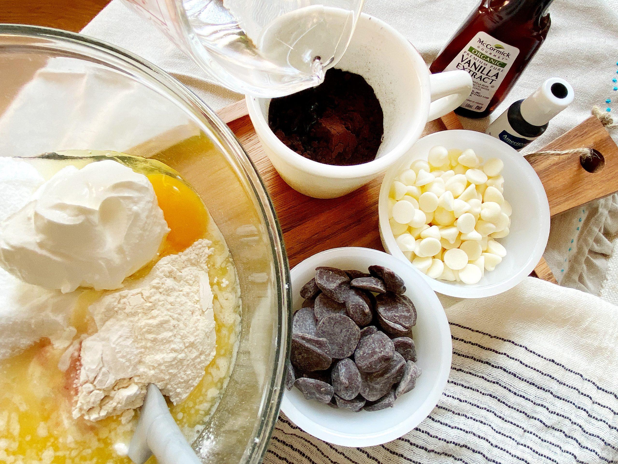 one-bowl cake recipe