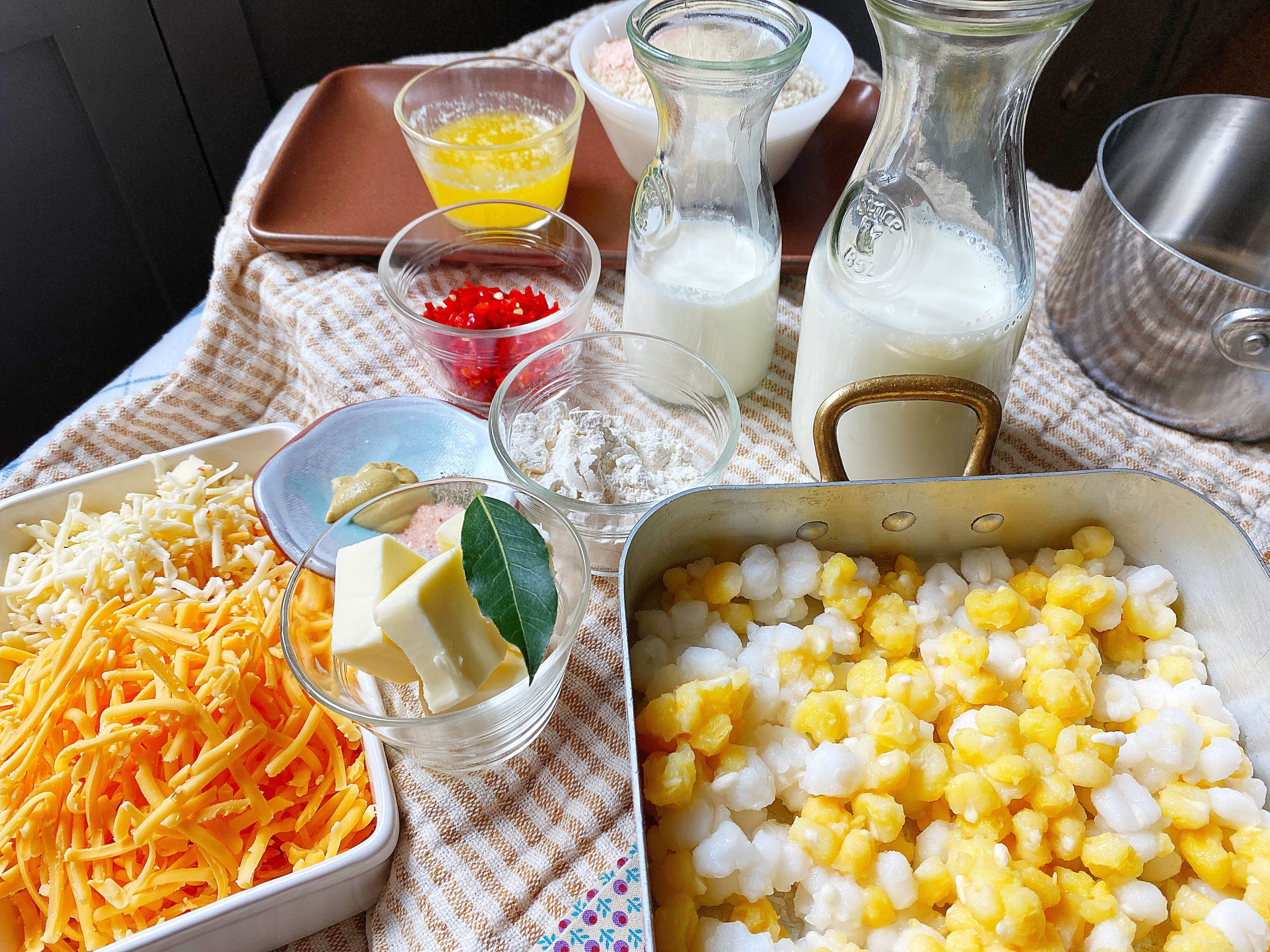 all hominy gratin ingredients