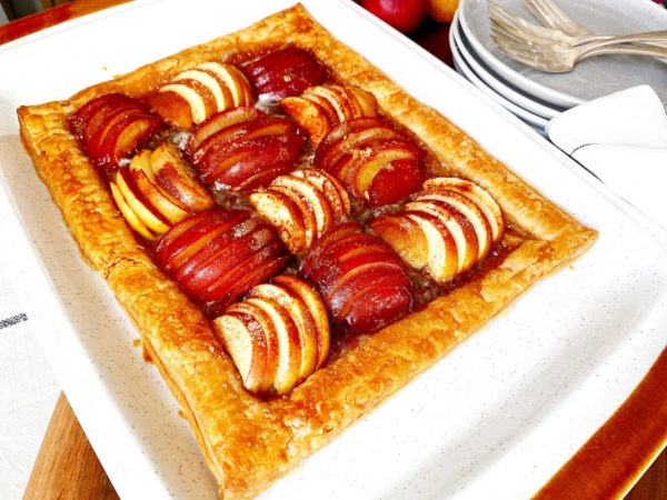 Apple + Plum Tart