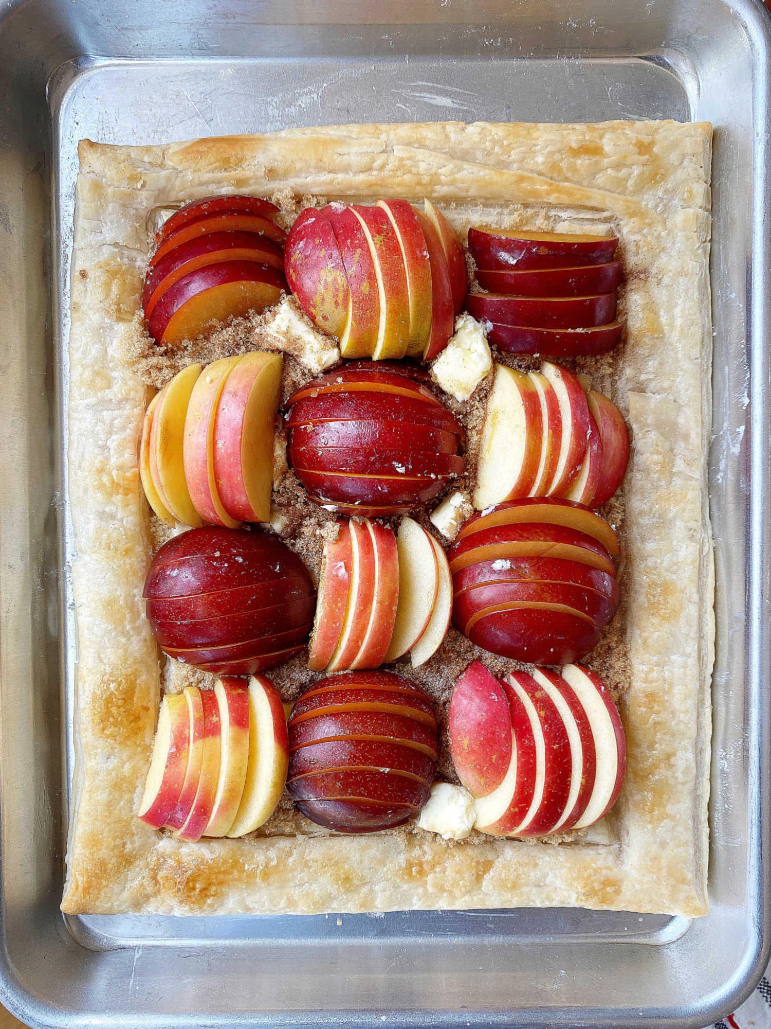 pre-baked tart