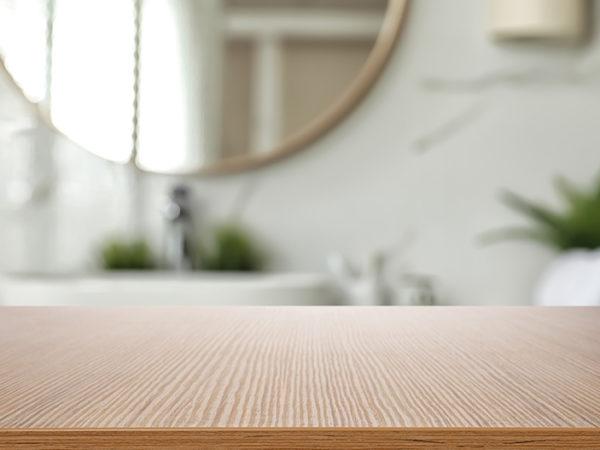 Bathroom wood texture