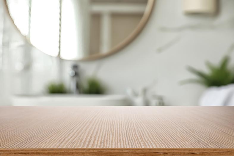 Bathroom wood gtexture