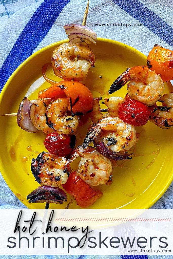 hot hot shrimp pin